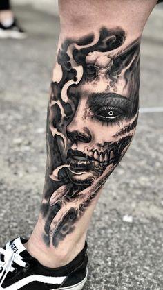 Visit the post for more. Skull Girl Tattoo, Girl Arm Tattoos, Skull Tattoos, Black Tattoos, Body Art Tattoos, Hand Tattoos, Sleeve Tattoos, Forarm Tattoos, Cool Forearm Tattoos