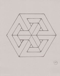 optical illusion triangle art in 2019 pinterest optical rh pinterest com