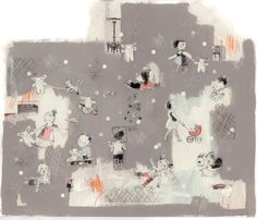 Isabelle Arsenault is an award-winning Canadian illustrator. Known for her children's books, she can create beautiful pictures that are remarkable for bein Children's Book Illustration, Illustrations, Character Illustration, Storyboard, Layout, Freelance Illustrator, Lovers Art, Book Design, Childrens Books