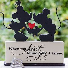 Aww I love this!!  Inspiration Gallery - Invitations & Favors | Disney's Fairy Tale Weddings & Honeymoons