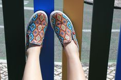 Bringing some colour! http://rockpime.com/shop/shoes/zulu/ #rockpime #slipon #sneakers