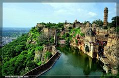 Chittorgarh Fort is one of the largest forts in India. It is a World Heritage Site. The fort, popularly known as Chittor, was the capital of Mewar and is today situated in Chittorgarh. It was initially ruled by Guhilot and later by Sisodias, the Suryavanshi clans of Chattari Rajputs, from the 7th century, until it was finally abandoned in 1568 after the siege by Emperor Akbar in 1567.