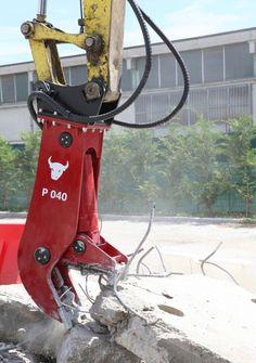 P040 pulverizer