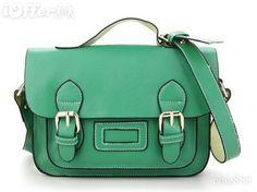 Double Buckle Bright Handbag - $48.49 (iOffer)