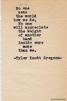 Typewriter Series #417 by Tyler Knott Gregson
