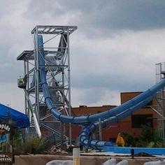 Wow!!! The new Wild  Vortex Slide opening soon in June at the Wilderness at the Smokies, at Lake Wilderness!!!  Wow!!!