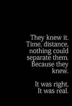 It was simply meant to be. The years, the miles, other people, life...nothing could get in the way of are souls finding each other again.