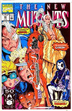 New Mutants #98 - 1st Appearance of Deadpool