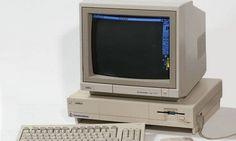 Os três produtos tech mais quentes de 1985 Amiga 1000 Foto: Reprodução/Wikipedia