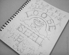 Loose Seal! ~ Design process & sketches | via Behance