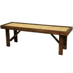 Bamboo Garden, Shade Garden, Water Garden, Bench Furniture, Garden Furniture, Bamboo Furniture, Cheap Furniture, Furniture Projects, Craft Projects