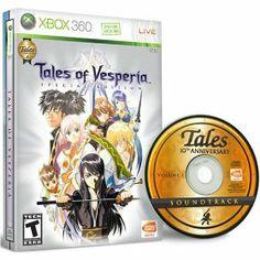 Tales of Vesperia Premium Edition Rare video game hard to find rarehtfshit