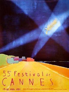 La 55ème édition du Festival de Cannes, en 2002 Palme d'Or en 2001 : Le pianiste de Roman Polanski.