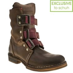 £130 - Women's Brown Fly London Norton Nif Boots | schuh