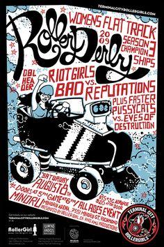 roller derby vintage - Google Search