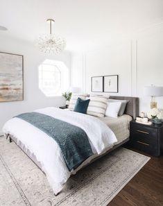 Master Suite Bedroom, Farmhouse Master Bedroom, Home Bedroom, Modern Bedroom, Bedroom Decor, Bedroom Ideas, Bedroom Neutral, Contemporary Bedroom, Bedroom Ceiling