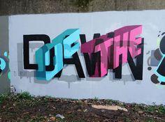 Stunning 3D graffiti by Peter Preffington
