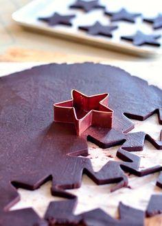 Perfect Dark Chocolate Sugar Cookie via Sweetapolita