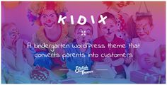 KIDIX - A Kindergarten WordPress Theme by stylishthemes | ThemeForest https://themeforest.net/item/kidix-a-kindergarten-wordpress-theme-/11609103?ref=stylishthemes #wordpress #theme #kindergarten #education #school #preschool #webdevelopment #website #themeforest