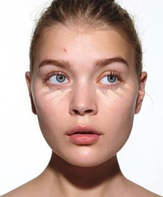 """The first step of all: Apply a moisturizer with SPF to help concealer glide on smoothly.Then useconcealeronly where you need it, like on undereye circles and blemishes, advises makeup artistAna Marie Rizzieri, who created the look in these photos. Try a creamy formula, likeLaura Mercier Secret Concealer, in a shade that matches your skin tone. """"Choosing a shade lighter is a myth,"""" she says. """"Too-white circles under your eyes look like you wore goggles while tanning."""" Apply in little…"""