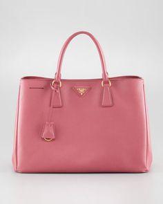Medium Top-Handle Tote Bag by Prada at Neiman Marcus.