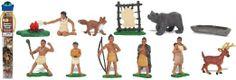 Amazon.com: Safari Ltd Powhatan Indians TOOB: Toys & Games