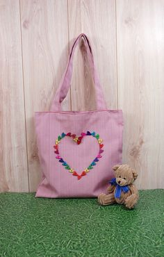 Cool Valentine's tote for your sweet heart :)