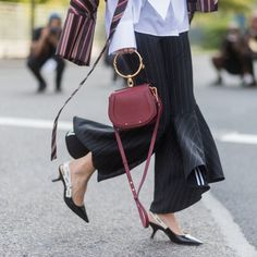 Fancy footwear and statement bags make up the hottest accessories of the season.