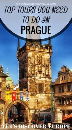 Top tours you need to do in Prague. Let's discover Europe. We have put togehter some of the best things  to do in Prague, so get ready to explore these top Prague attractions. TerezínConcentration Camp (Theresienstadt)Prague Old Town Square(Staromestske Namesti)Prague Castle(Prazsky hrad)Charles Bridge(Karluv Most)Sedlec Ossuary.Castle District(Hradcany)Lobkowicz Palace and much more. Click to read Things to do in Prague https://www.divergenttravelers.com/things-to-do-in-prague/