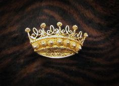 RESERVED Vintage 24K Gold Sterling Silver by SilverShadowShop, $50.00