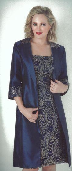 Dress and Jacket Set 113