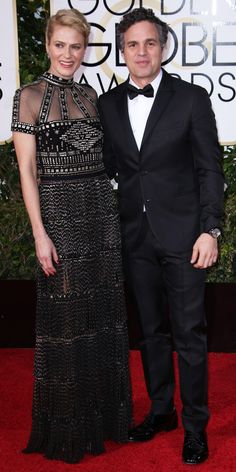 2016 Golden Globes Red Carpet Arrivals - Mark Ruffalo  - from InStyle.com