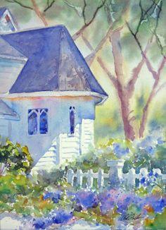 Pat Fiorello, watercolor