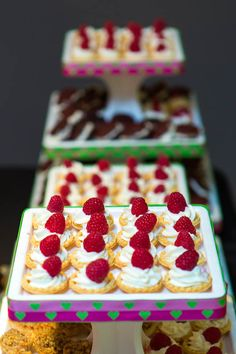 dessert bar @Alex Sommers