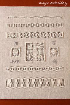 Drawnwork Embroidery Theme : Sampler - Mayu Embroidery