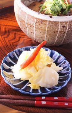 冬の味!塩麹で手軽に!白菜と柚子の浅漬け by junjunさん | レシピ ...
