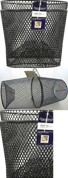 Other Fishing Equipment 27414: Cray Fish Trap Black Coated Crawfish Small Minnows Mtwc -> BUY IT NOW ONLY: $999.53 on eBay!