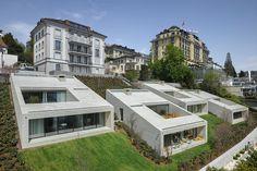 Таунхаусы Urban Villas от студии Lischer Partner