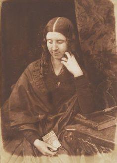 1843-1848 - Mrs Rishton (née McCandlish) by David Octavius Hill, and Robert Adamson