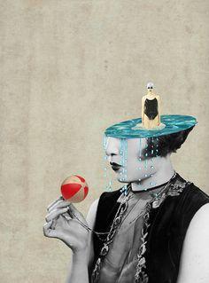 Julia Geiser. Collage Art