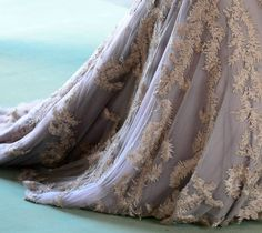 Delicate fabrics are perfect for an enchanted feel.