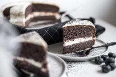 Vláčný makový dort bez mouky s bohatou tvarohovou náplní | Aktin Recipe Cover, Tiramisu, Great Recipes, Cheesecake, Protein, Healthy, Ethnic Recipes, Sweet, Desserts
