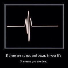 heartbeats, ups and downs