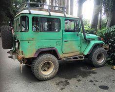 Time to explore the Costa Rica rainforest! #Toyota #FJ40