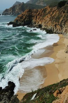 I wanna go here and just wade in the water and look out at the sea
