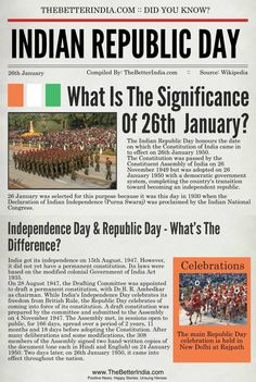 #TooShytoAsk What is the difference between Independence Day and REpublic day. #thnkyoubetterindia