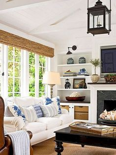 Marvelous Unique Ideas: Living Room Remodel On A Budget Cabinet Colors small living room remodel with fireplace.Living Room Remodel On A Budget Barn Doors living room remodel rustic wall colors.Living Room Remodel With Fireplace Ship Lap. French Living Rooms, French Country Living Room, Coastal Living Rooms, My Living Room, Living Room Furniture, Living Room Decor, Cottage Living, Bed Furniture, Country Kitchen
