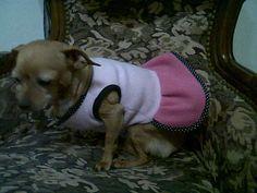 Tatiana, de Rosario, con vestido a medida