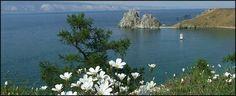 Lagos de Rusia Baikal - uno de los lagos mas profundos de la tierra