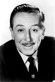 This, if you don't already know, is Walt Disney. One of my personal idols. He had nothing but a dream of a mouse and made an Empire